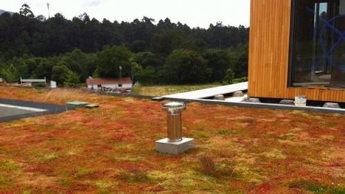 Cobertura verde do Hotel Turismo do Minho - Vila Nova de Cerveira