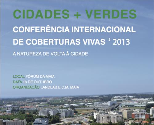 Conferência Internacional de Coberturas Vivas 2013