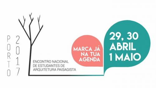 ENEAP 2017 - ENCONTRO NACIONAL DE ESTUDANTES DE ARQUITETURA PAISAGISTA