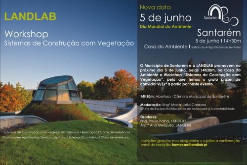 Dia do Ambiente - Workshop Coberturas e Paredes Verdes - Santarém