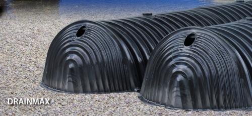 Sistema de infiltração de águas pluviais DRAINMAX