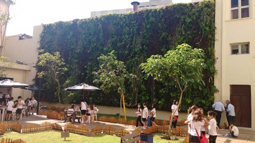 Jardim vertical WALLGREEN® em São Paulo, Brasil