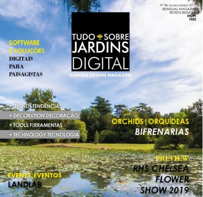 Revista Tudo Sobre Jardins - Curso Landlab IPDJ, Lisboa