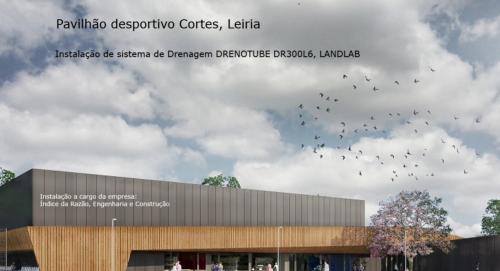 Instalação de sistema de drenagem Drenotube DR300L6 - Cortes, Leiria